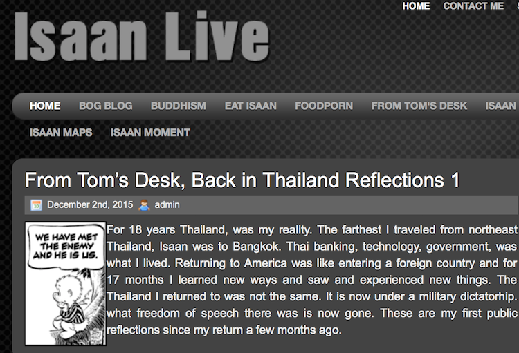 Thailand Blogs - Isaan Live