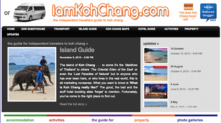 Thailand Blogs - I Am Koh Chang