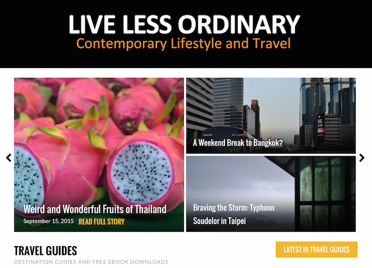 Thailand Blogs - Live Less Ordinary
