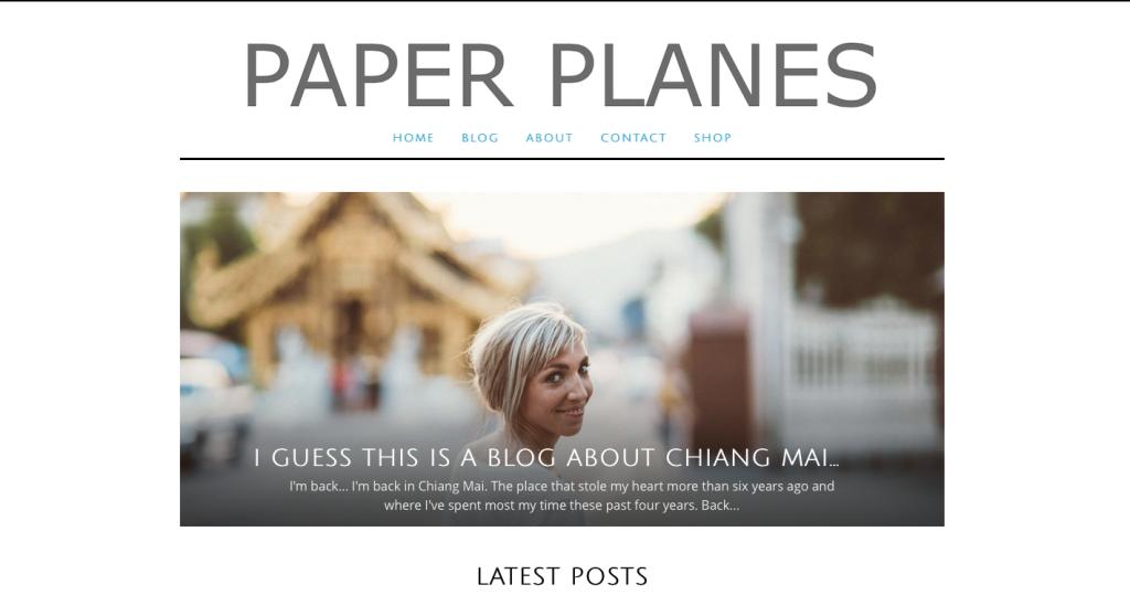 Paper Planes Blog