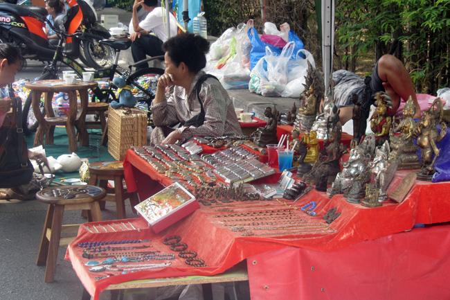 Weekend Flea Market in Chiang Mai
